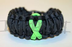 Lyme Non Hodgkins Lymphoma Muscular Dystrophy LIME by KnotKrazy, $15.00