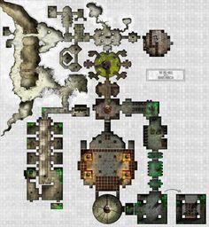 Arkay Manor - Salt Caverns - Tiny overall view by dasomerville.deviantart.com on @DeviantArt http://dasomerville.deviantart.com/gallery/