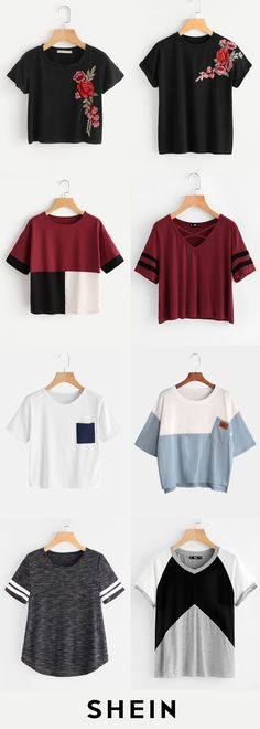 T-shirts start at $7!