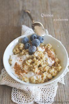 Quinoa a colazione ( Porridge di quinoa )