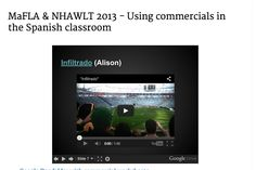 Using commercials in the Spanish classroom
