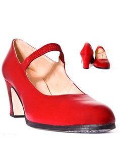 442d8218f7b60 14 mejores imágenes de Zapatos de flamenca Bulería