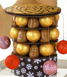 Xmas tower dessert -online course