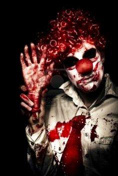 Gore clown