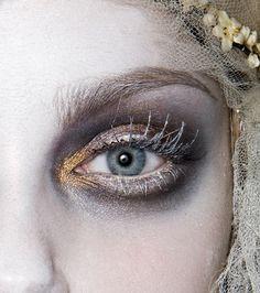The eye of a FrozenUkrainian Bride
