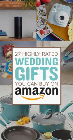 27 Highly Rated Wedding Gifts You Can Buy On Amazon
