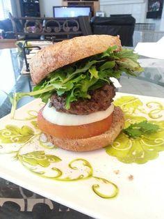 Cowgirl burger! W/ Ezekiel bun!  Fast Metabolism diet. #diet #workout #fitness #weightloss #loseweight