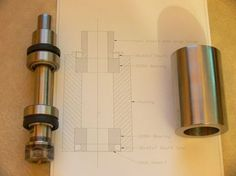 Homemade CNC mill spindle