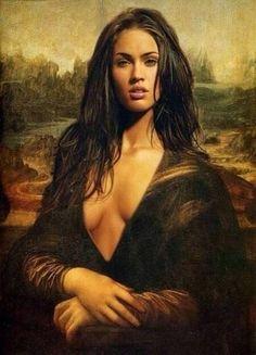 "Obra de Arte! Megan Fox,   ""De Don Francis Palacio"""