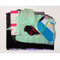 From the colour studies. by emilyfiller Abstract Paper, Painting Abstract, Color Studies, Vintage Photographs, Contemporary Paintings, Paper Art, Mixed Media, Collage, Study
