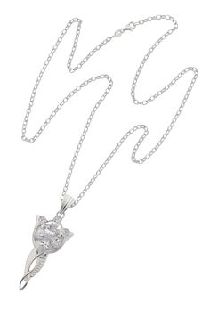 Evenstar Pendant in SILVER with CZ on CHAIN at Goldfields Jewellers in Queenstown New Zealand