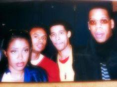Aaliyah, Rashad, Jay-Z *RARE* - aaliyah Photo