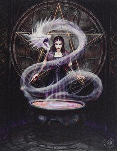 Gothic Vampire, Vampire Art, Canvas Art Prints, Canvas Wall Art, Anne Stokes, Dark Artwork, Scary Art, Creepy, Cool Monsters