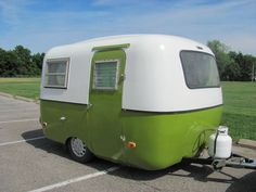 Boler Trailer (ca 1972).. the Scamp's Canadian cousin!
