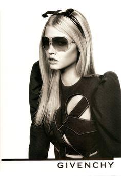 Lara Stone for Givenchy, by Inez and Vinoodh, 2009