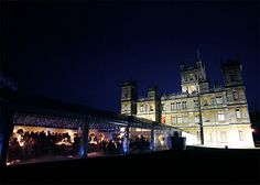 I could totally have my wedding at Downton!