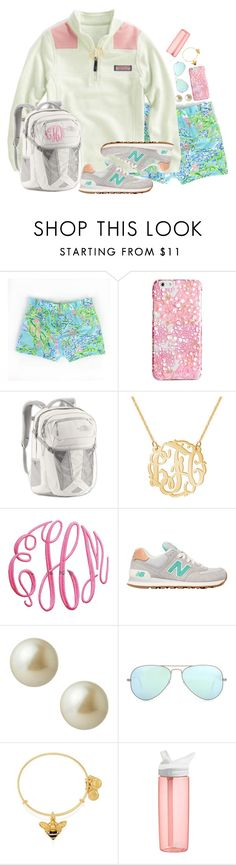 last day of Kates contest!! by sydneylawsonn ❤ liked on Polyvore featuring Vera Bradley, Vineyard Vines, The North Face, New Balance, Carolee, Ray-Ban, Alex and Ani, CamelBak and k7setsofspring