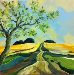 Pré de la Vue Original oil painting available Beautiful Things, Painting, Life, Painting Art, Paintings, Painted Canvas, Drawings