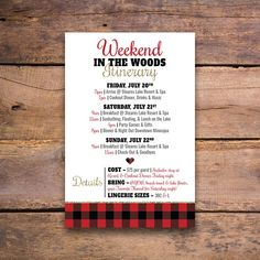 Flannel Fur and Fizz Bachelorette Party Invitation & Invite Lingerie Shower Invitations, Bachelorette Party Invitations, Invites, Bachelorette Party Games, Bachelorette Weekend, Chili Bar, Hot Chocolate Bars, Bar Signs, Party Planning