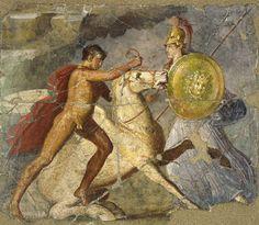 pintura de pompeya