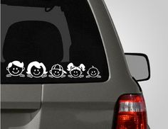 Lovely Bird Family Car Vinyl Decals Stickers Window Decals - Cars decal maker online