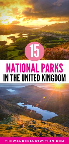 Are you a nature lover? Check out this local guide to the National Parks in the UK, and enjoy some of the most stunning places in England, Wales, and Scotland. | hiking uk national parks map | wales uk national parks england uk travel places photography | uk nature national parks | hiking england national parks in scotland | landscape photography england national parks | beautiful places in england national parks | best places to visit in united kingdom nature travel | hiking uk walks