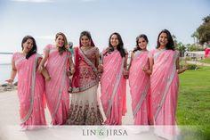 Shaadi Belles : South Asian Wedding Inspiration | beautiful bridesmaid | image courtesy of Lin and Jirsa #wedding #bridesmaid Bridesmaid Saree, Indian Bridesmaids, Bridesmaid Outfit, Bridesmaid Ideas, Wedding Bridesmaids, Sikh Wedding, Punjabi Wedding, Wedding Wear, Dream Wedding