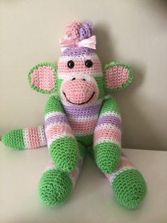 MONKEYS on Pinterest Sock Monkeys, Amigurumi and Crochet ...