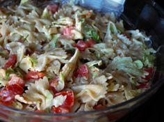 BLT Bow-Tie Pasta Salad