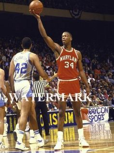 427d3725a0b0 Len Bias Maryland Terps 8x10 Color Photo Boston Celtics  1 Pick Basketball