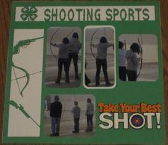 Shooting Sports - Scrapbook.com