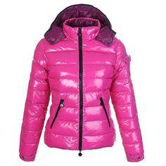 Moncler Bady Daunenjacke Damen Pink