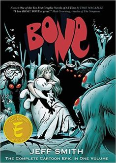 Bone: The Complete Cartoon Epic in One Volume: Jeff Smith: 9781888963144: Amazon.com: Books