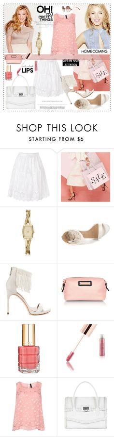 """2016-10-03"" by wilady ❤ liked on Polyvore featuring Diane Von Furstenberg, Jérôme Dreyfuss, DKNY, BCBGMAXAZRIA, River Island, L'Oréal Paris, Whiteley and Manon Baptiste"