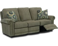 Make the customizable Jasmine Reclining Sofa the centerpiece of your living space.