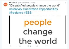 """""""""""Dissatisfied people change the world"""" People Change, Inspiration Boards, Change The World, Innovation, Change The Worlds"""