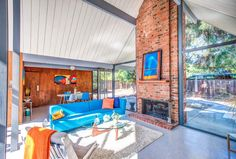 Rare Eichler with double A-frame atrium wants $1.8M - Curbedclockmenumore-arrow : The Sunnyvale home is a showstopper
