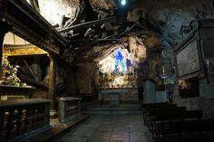 Sanctuary of St. Rosalia on Pellegrino Mountain, Palermo, Sicily
