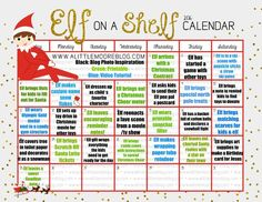 It really does not seem like we are close to this season but here we are and this years edition of the Elf on the Shelf Calendar is complete! If you are new to Elf on the Shelf families adopt an elf dresses up, gets into a little mischief or moves every morning during the [...]