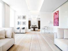 Love the wide plank wood floor.  desire to inspire - desiretoinspire.net - More fromDinesen