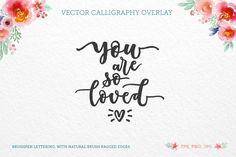 So loved, vector quote By Zira Zulu