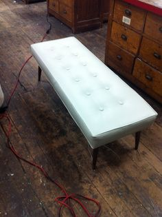 Turning the awful coffee table into this.  Just bought the legs on eBay.