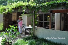 Grape Arbor, Shade Structure, Arbors, Trellis, Beams, It Is Finished, Shades, Tours, Patio