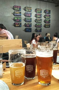Read our brewery breakdown of Fate Brewing Company - South