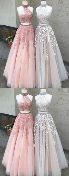 High fashion two-piece prom/evening dress #prom #promdress #eveningdress #eveningdresses