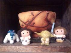 Needle felted Star Wars cuties