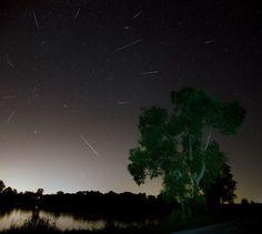 Perseid Meteors Over Ontario