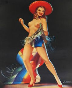 Vintage mexican pinups me!