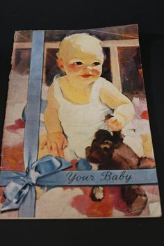 Vintage Your Baby book by the Pet Milk Company c by SunnyDayFinds