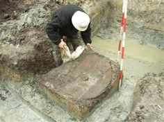1000-year-old wood Viking shield found in Denmark.